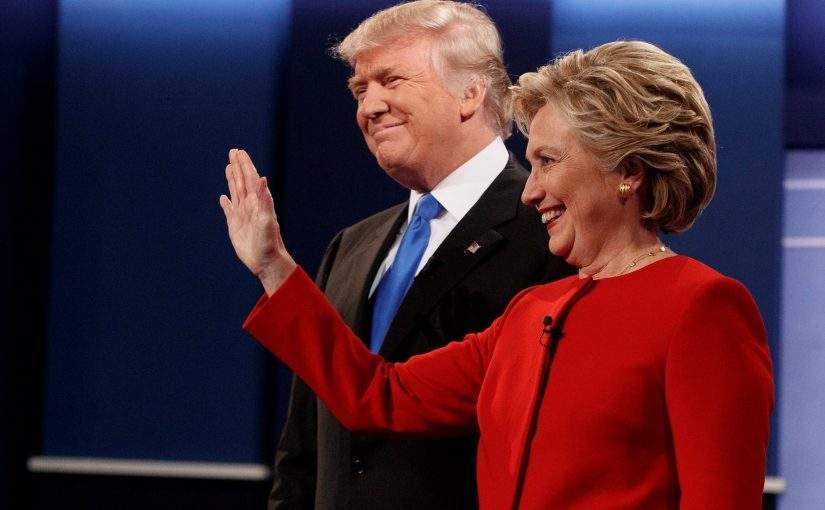 Перший раунд: Клінтон проти Трампа