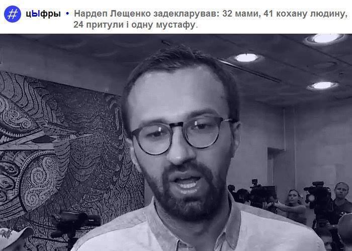 """Про """"реабілітацію"""" лещенка"""