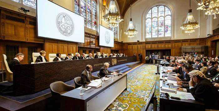 Гаагский трибунал признал аннексию Крыма военной операцией РФ против Украины
