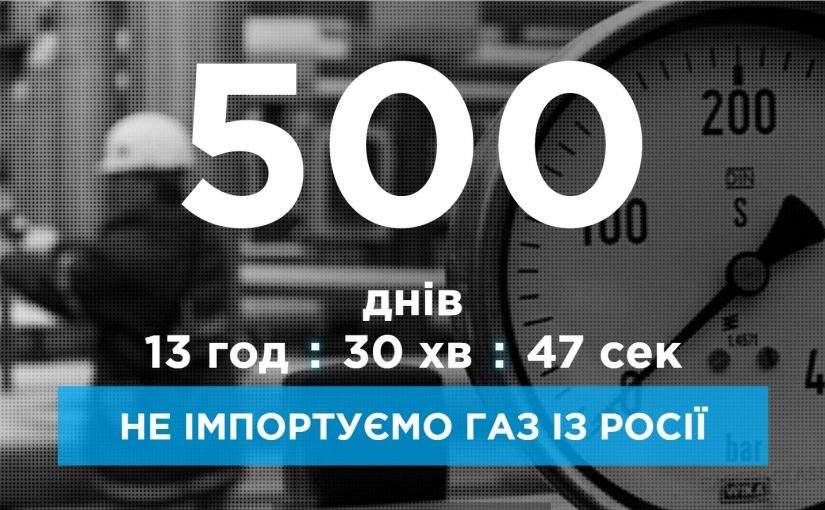 500 днів