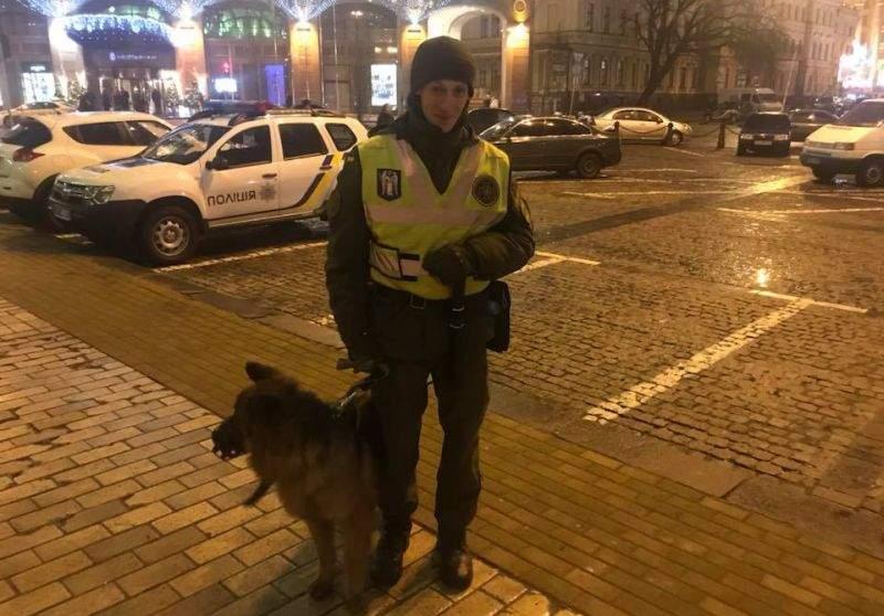 Правоохоронці забезпечили публічний порядок під час масових заходів у новорічну ніч (фото)