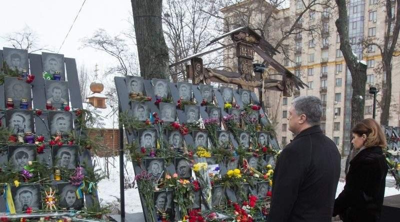 Президент прийняв участь у заходах з вшанування пам'яті Героїв Небесної Сотні (звернення, фото, відео)