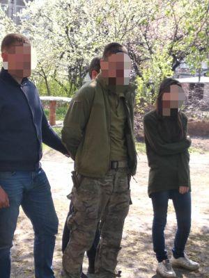 На Донеччині у представника незаконного збройного формування вилучено арсенал зброї