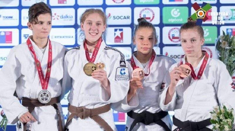 Анастасія Балабан - бронзовий призер чемпіонату світу з дзюдо серед кадетів (U-18)