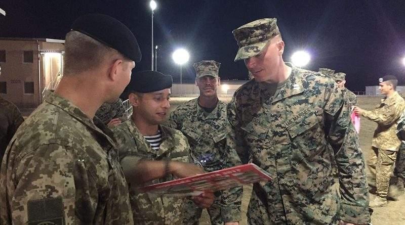 Українські морські піхотинці взяли участь у багатонаціональному навчанні «Платинум Лайон-2017» у Болгарії