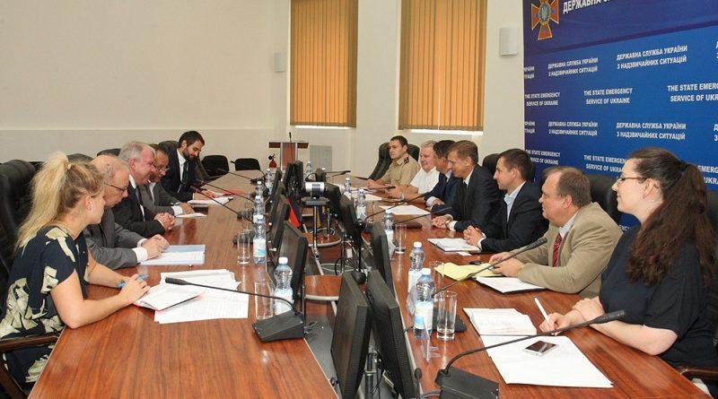В ДНС відбулася зустріч з делегацією Федерального відомства у справах захисту населення та допомоги при катастрофах ФРН