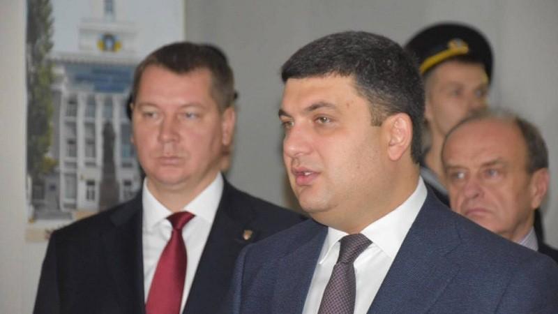 Володимир Гройсман прибув із робочою поїздкою до Херсонської області