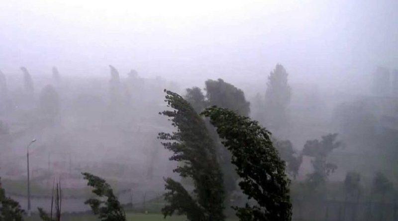 Увага! Попередження про грозові дощі та пориви вітру по всій території Україні