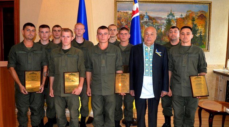 Голова Закарпатської ОДА нагородив ужгородських гвардійців