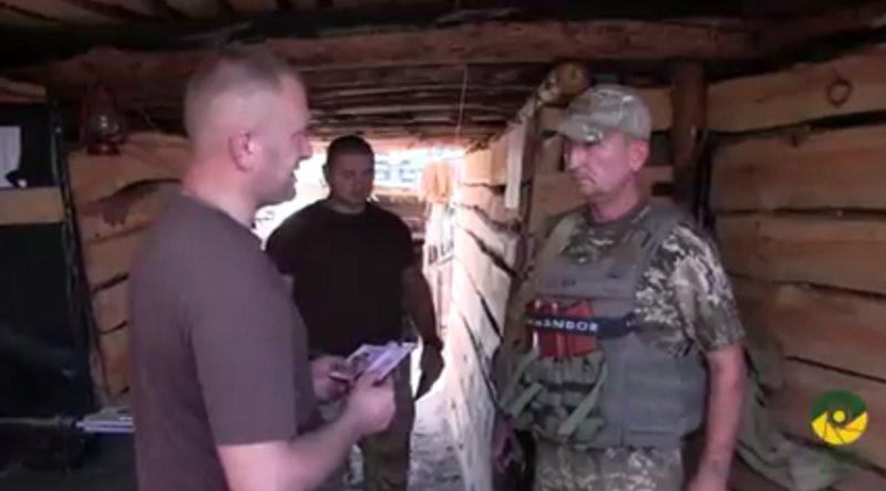 Військовослужбовцям однієї з бригад на передовій вручено нагороди (відео)