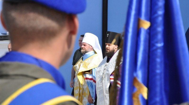 До Дня Незалежності України в столиці відбулось освячення парадних розрахунків НГУ