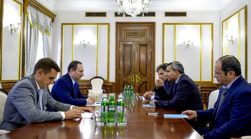 Глава АПУ провів зустріч із Міністром з питань охорони навколишнього середовища Держави Ізраїль