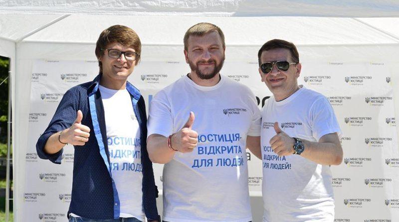 Павло Петренко взяв участь у флешмобі з нагоди Міжнародного дня молоді