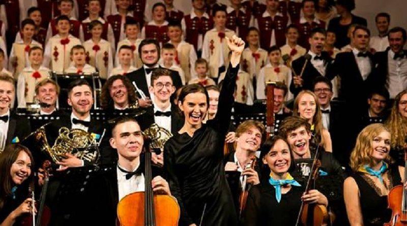 У Національній філармонії України презентували спільний українсько-німецький проект - Молодіжний симфонічний оркестр України - за участю юних музикантів обох країн (фото)