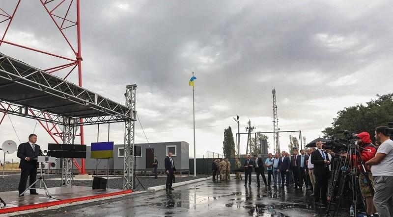 Глава держави дав старт роботі телевежі у Луганській області