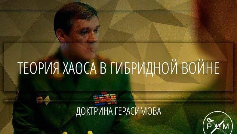 Теория хаоса в гибридной войне (Доктрина Герасимова)