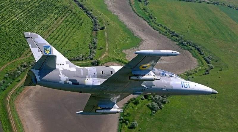 На Хмельниччині зазнав аварії навчально-тренувальний літак Повітряних Сил ЗСУ