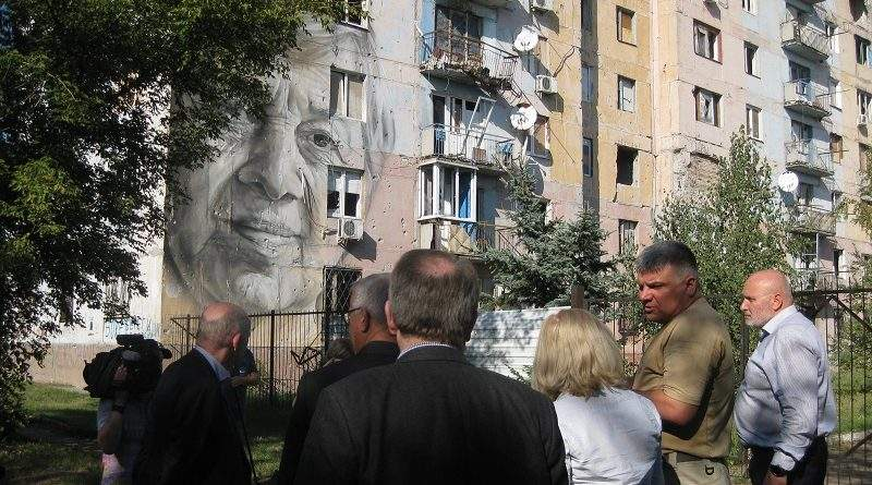 Заступник Міністра Георгій Тука разом з делегацією Сенату Франції відвідав Донеччину (фото)