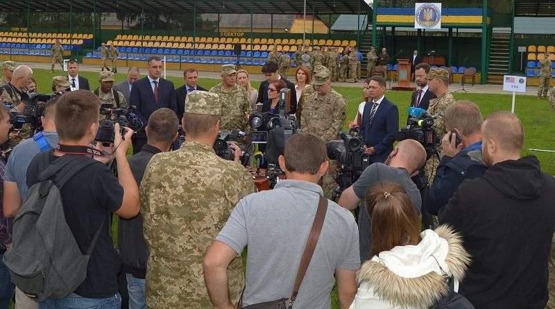 На Львівщині розпочалось українсько-американське навчання «Rapid Trident-2017» (фото)