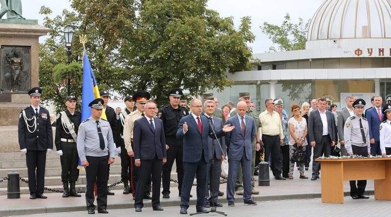 Автопарк поліції Одещини поповнився новими автомобілями (фото, відео)