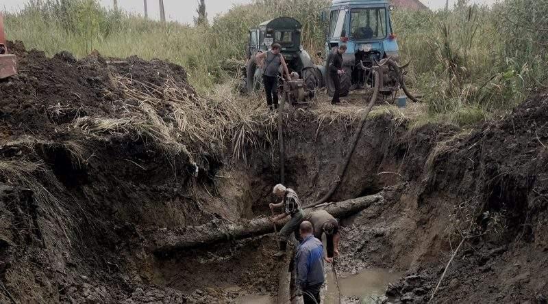 Cпільними зусиллями продовжується ремонт ділянки водоводу «Горлівка-Торецьк» (фото)
