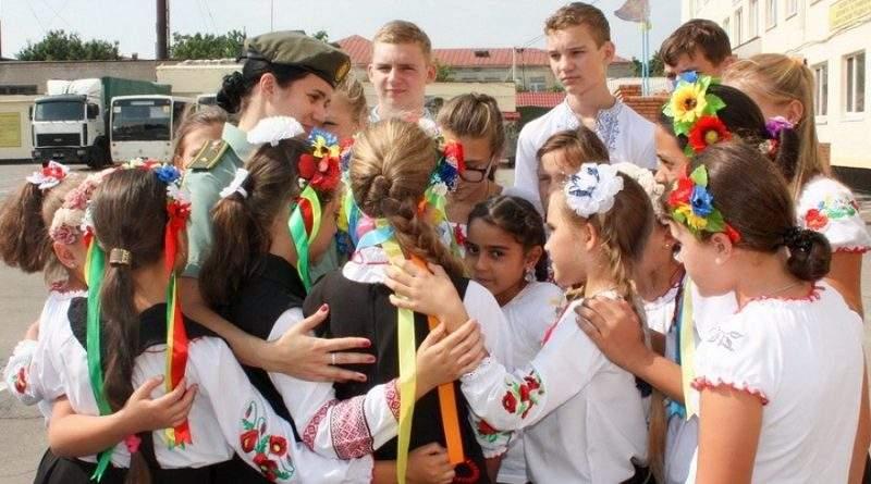 У Дніпрі гвардійці взяли участь у національно-патріотичній фотосесії (фото)