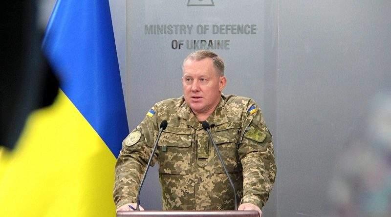 Брифінг заступника директора Департаменту фінансів Міністерства оборони України полковника Сергія Галімського