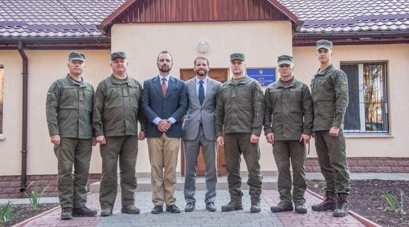 Держдеп завітав до Міжнародного багатофункціонального центру підготовки НГУ (фото)