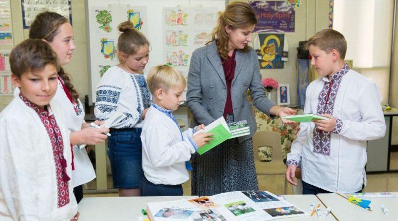 Марина Порошенко презентувала національний проект «Книга Миру» для української діаспори в Канаді (фото)