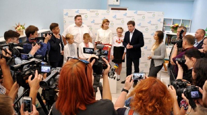 Марина Порошенко відкрила першу Медіатеку на Житомирщині (фото)