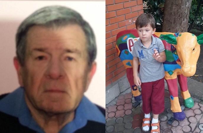 Поліція Одещини розшукує зниклих діда з онуком (фото)
