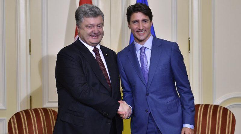 Президент України провів зустріч з Прем'єр-міністром Канади (фото)