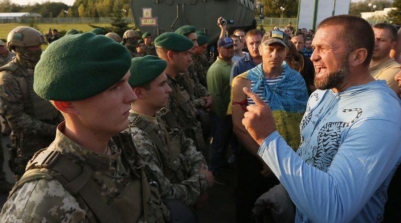 Суд арештував одного з правопорушників під час акції на пункті пропуску «Шегині»