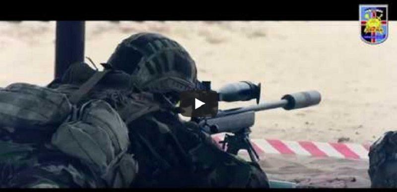 Як проходив конкурс на кращу снайперську пару серед підрозділів ЗСУ у «Десні» (відео)