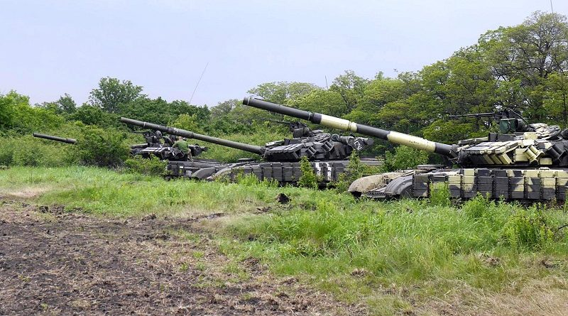 На Чернігівщині тривають змагання на кращий танковий взвод ЗС України (відео)