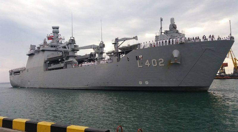 В Одесу з дружнім візитом прибув корабель ВМС Туреччини