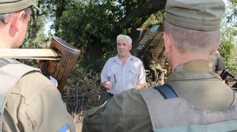 Ветеранська підтримка молодого покоління гвардійців (фото)
