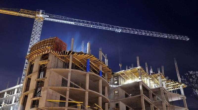 Зростання обсягів будівництва свідчить про зростання реального сектору економіки