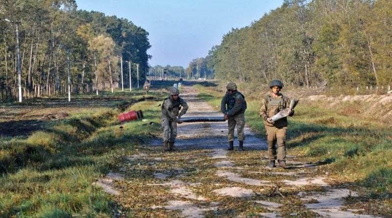 Тривають роботи з ліквідації наслідків вибуху на арсеналі у Калинівці