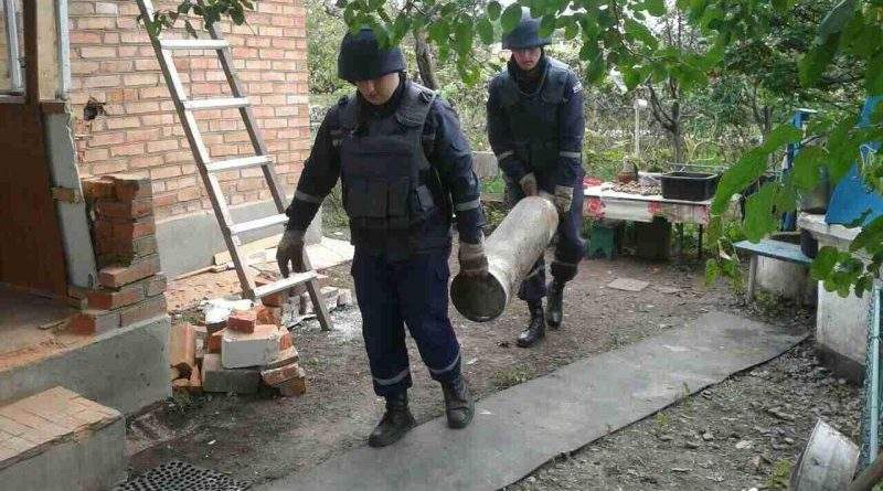 Інформація щодо вибухів на військових складах у Вінницькій області станом на 14:00 12.10.2017 (фото)