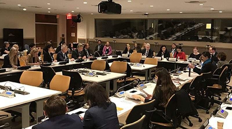 Іванна Климпуш-Цинцадзе закликала ООН підтримати Резолюцію про права людини в Криму