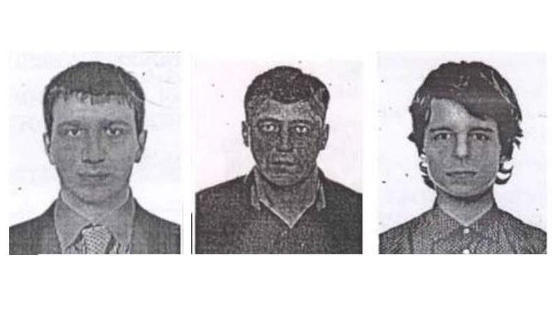 """Поліція Києва розшукує злодіїв, які """"обчистили"""" банківські скриньки (фото, відео)"""