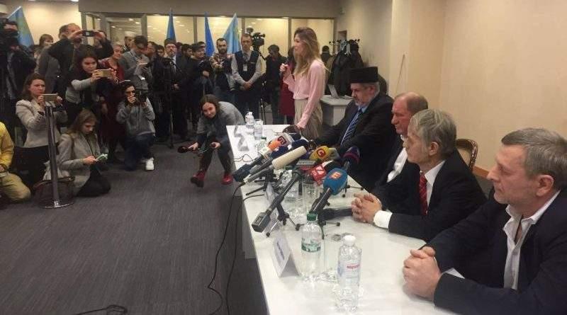 Перша прес-конференція після звільнення заступників голови Меджлісу І.Умерова та А.Чийгоза (фото, відео)