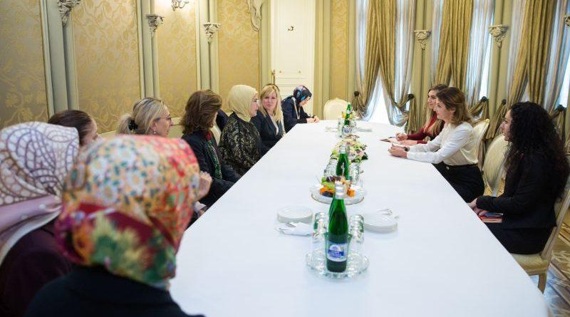 Марина Порошенко та Еміне Ердоган обговорили ситуацію на Сході України та в Криму (фото)
