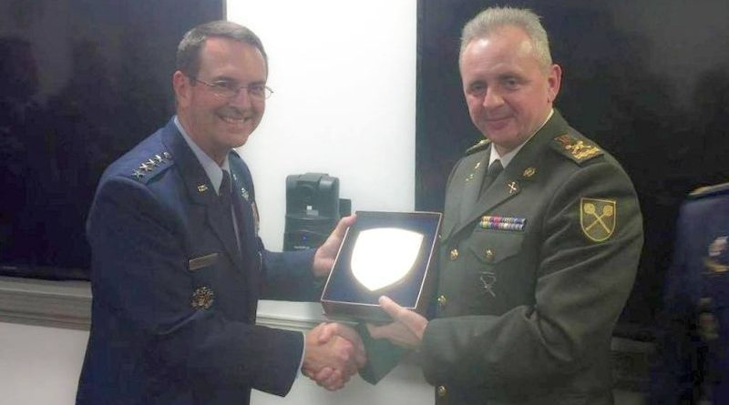Віктор Муженко провів в Пентагоні зустріч з Главою Бюро Нацгвардії США генералом Джозефом Ленгелом (фото)