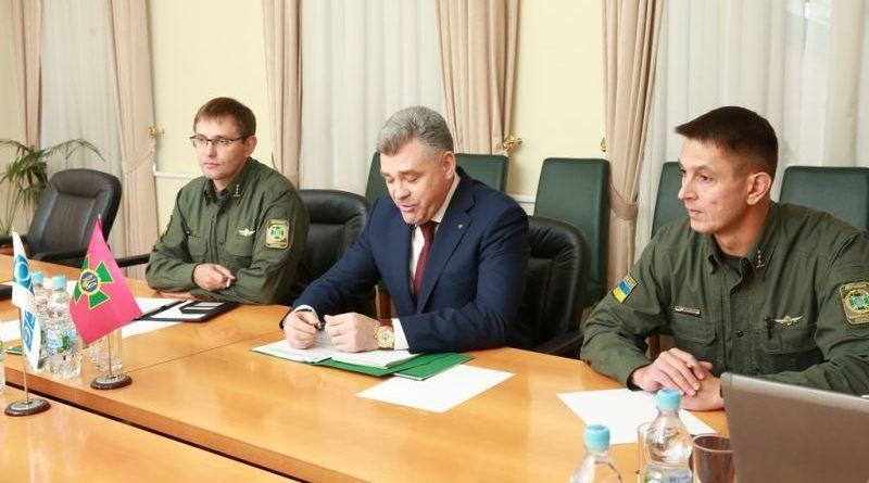 В Держприкордонслужбі обговорили співробітництво з СММ ОБСЄ в Україні (фото)
