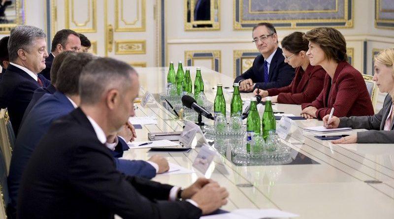 Президент України провів зустріч з Генеральним директором енергетичної групи ENGIE