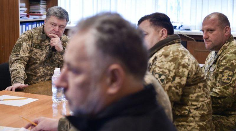 Президент в Авдіївці провів нараду щодо оперативної ситуації на фронті (фото)