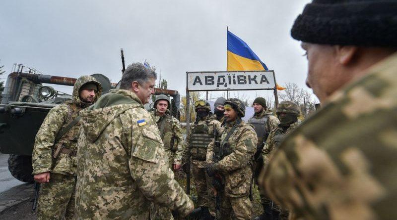 Український воїн є гарантом незалежності нашої держави - Президент в Авдіївці (фото, відео)