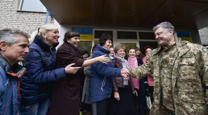 Робитиму все від мене залежне, щоб нарешті на українську землю прийшов мир - Президент в Авдіївці (фото)